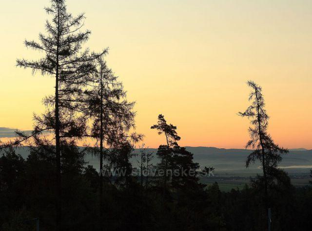 nádherné ráno s výhledem