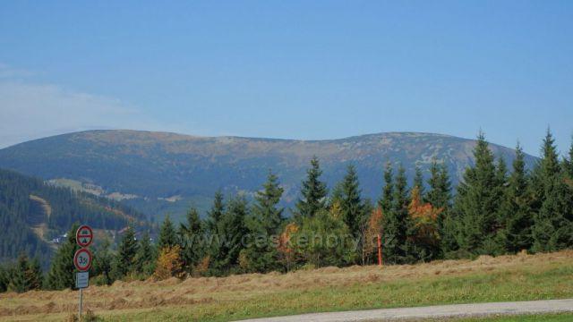 cesta z Černého Dolu do Jánských Lázní
