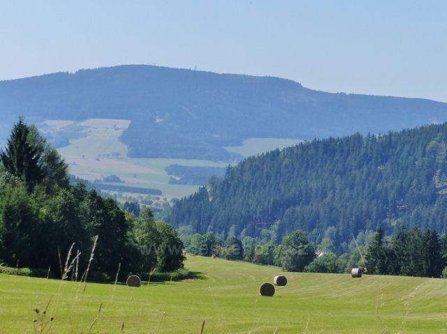 Horní Orlice - pohled k Suchému vrchu