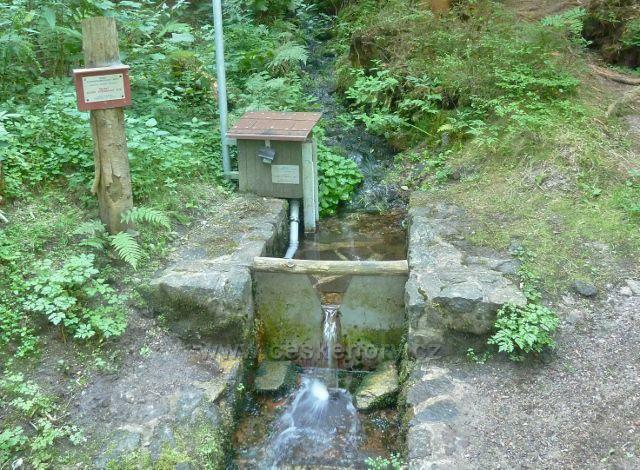 Horní Orlice - měřící stanice na jednom z přítoků horního toku Tiché Orlice