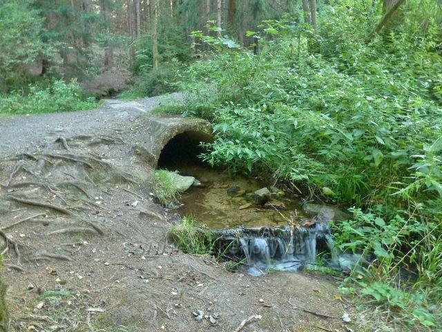 Horní Orlice - mostek na horním toku Tiché Orlice
