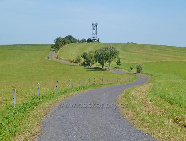 Dolní Hedeč - rozhledna Val na stejnojmenném vrchu (788 m.n.m.)