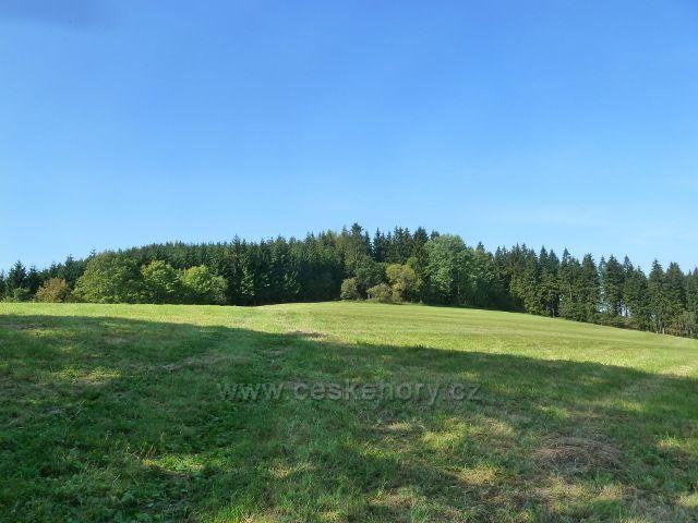Dolní Hedeč - vrchol Lískovce (778 m.n.m.)