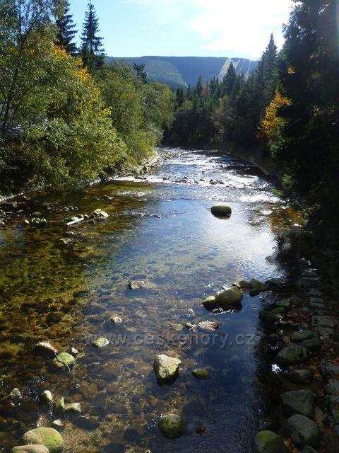 protéká Špindlem...podzimní...
