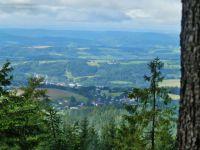 Pohled ze Suchého vrchu na Jablonné nad Orlicí