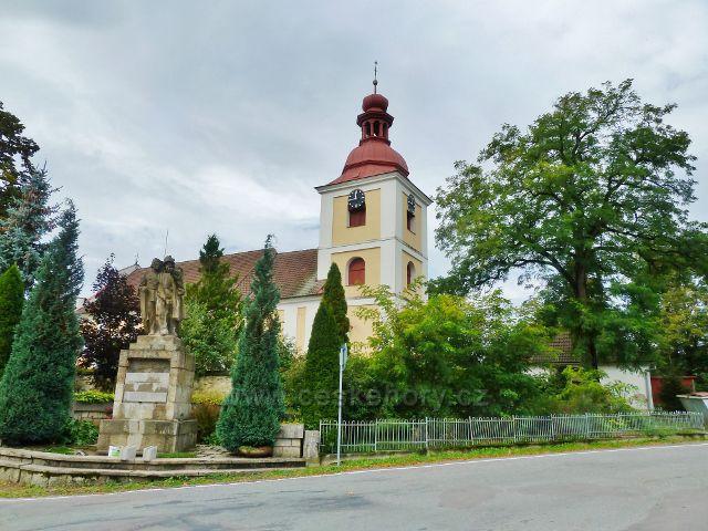 Slatina nad Zdobnicí - kostel Proměnění Páně