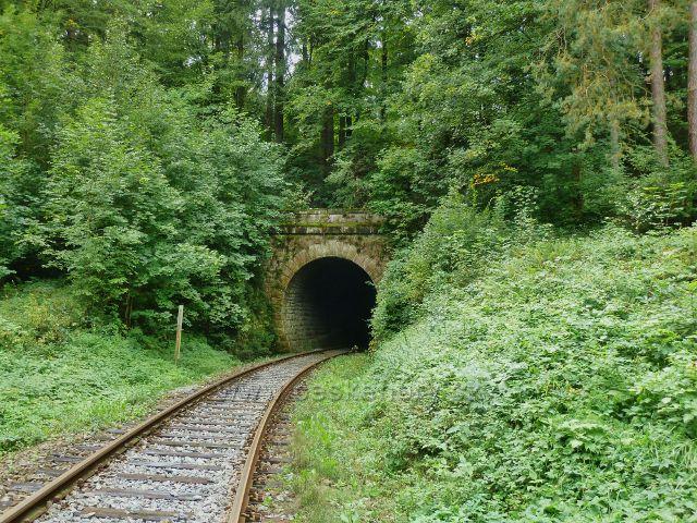 Rybná nad Zdobnicí - železniční tunel