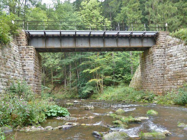 Vamberk - železniční most přes Zdobnici pod Zákopankou