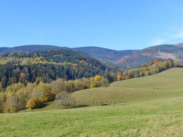 Chrastice - údolí Prudkého potoka v barvách podzimu