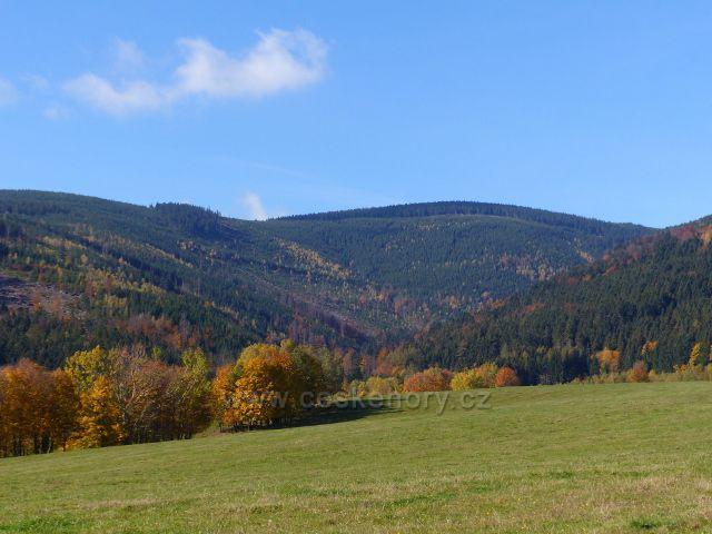 Pastvina nad Bystřinou, údolí Prudkého potoka