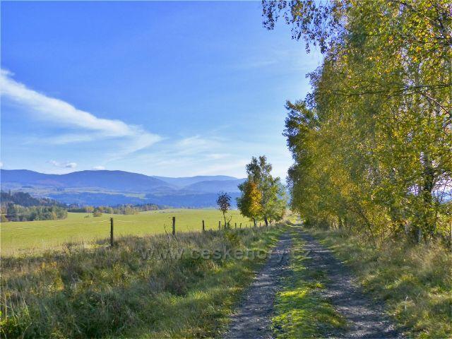 Polní cesta z Chrastic do Hynčic