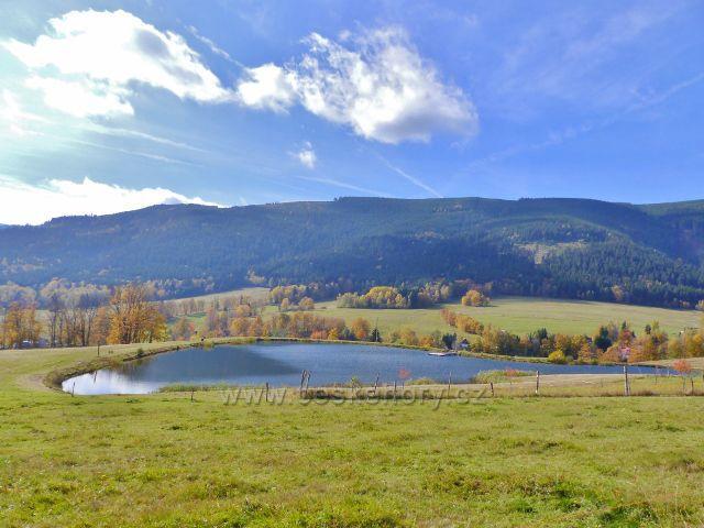 Hynčice pod Sušinou - rybník Úžas