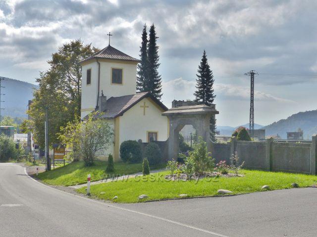 Loučná nad Desnou - hřbitovní kaple Rejhotice