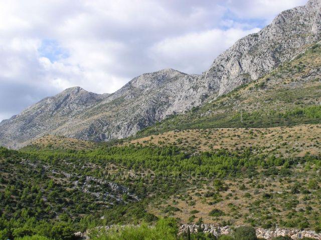 pohorie Biokovo