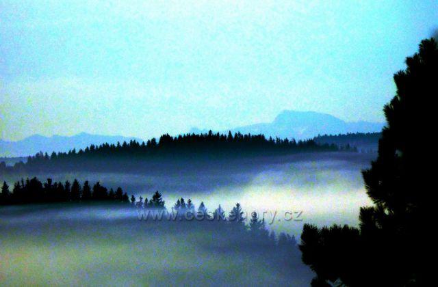Foto Alp z Horní Plané, přístroj Nikon Coolpix S7000, foceno z ruky