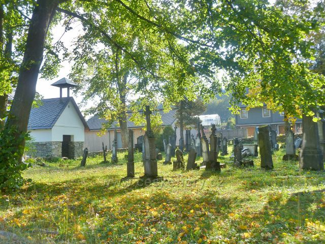 Ostružná - hřbitov