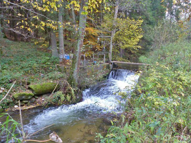 Malá Morava - měřící zařízení na potoku Malá Morava
