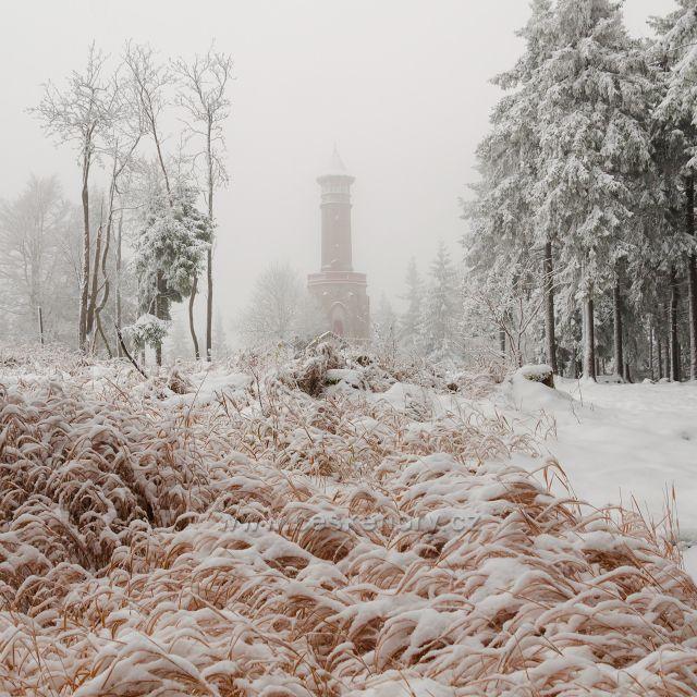 První sníh na Štěpánce.