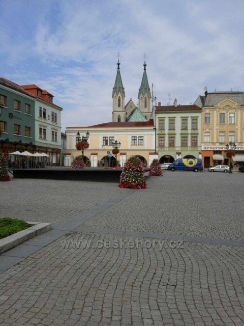 Kroměříž - Velké náměstí