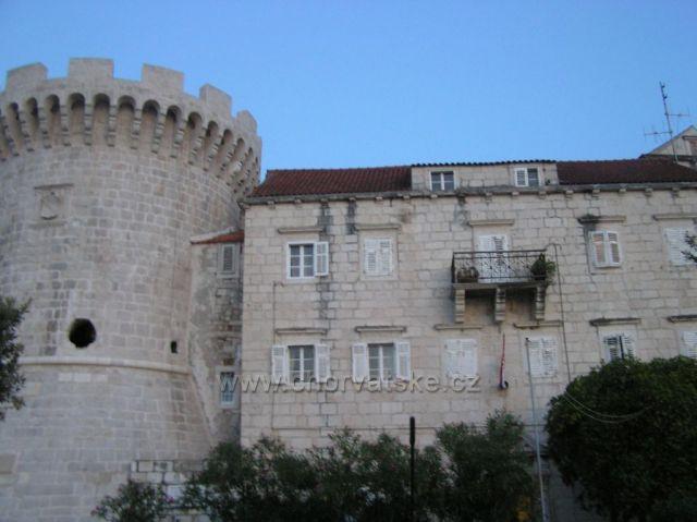 ostrov Korčula-historické jadro mesta Korčula