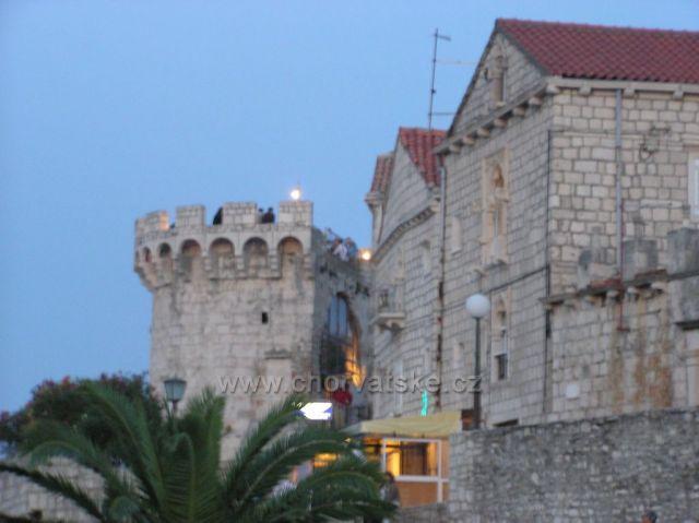 historické jadro mesta Korčula