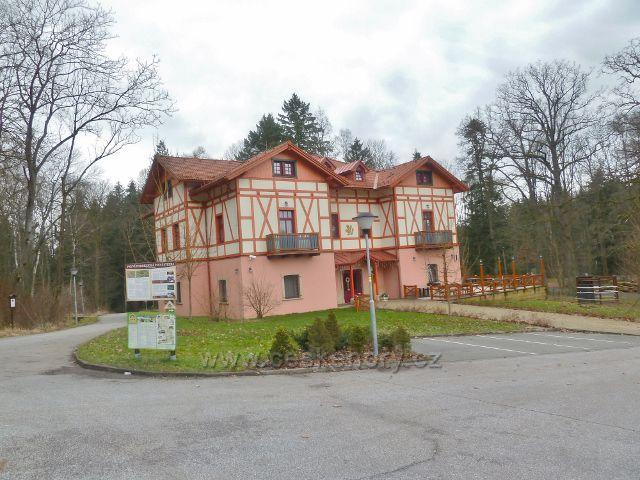 Vila v letovisku Studánka