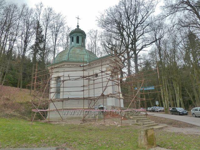 Letovisko Studánka - kaple sv.Jana Nepomuckého