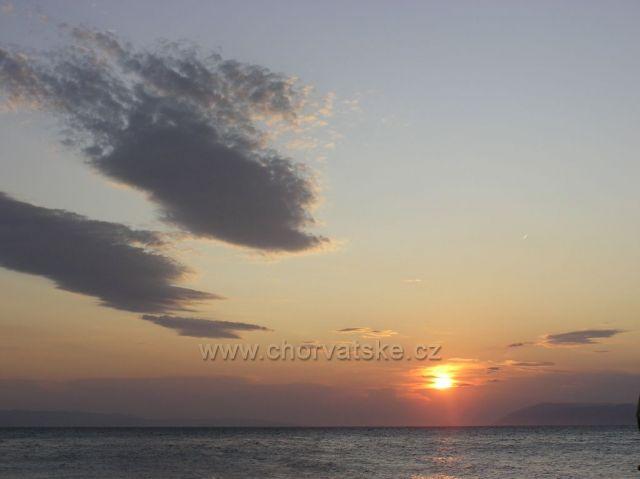 západ slnka v Podgore