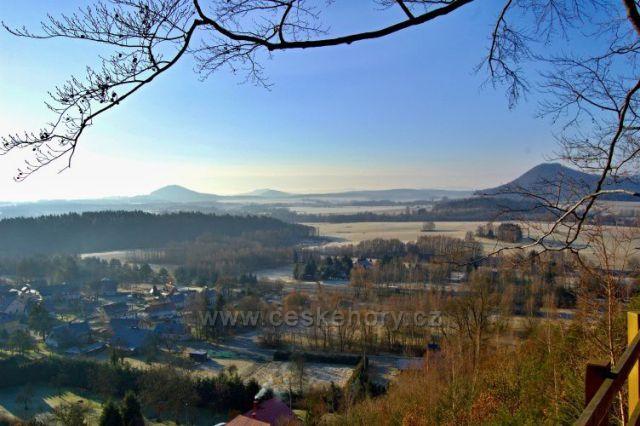 Zelený vrch (586m)-Vyhlídka Švýcárna