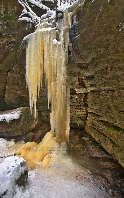 Ledopád Velký ledový sloup