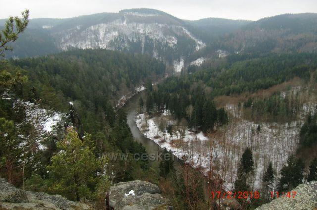 pohled do údolí Ohře