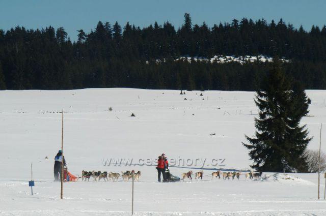 Zimní sporty na horách-Hřebečná