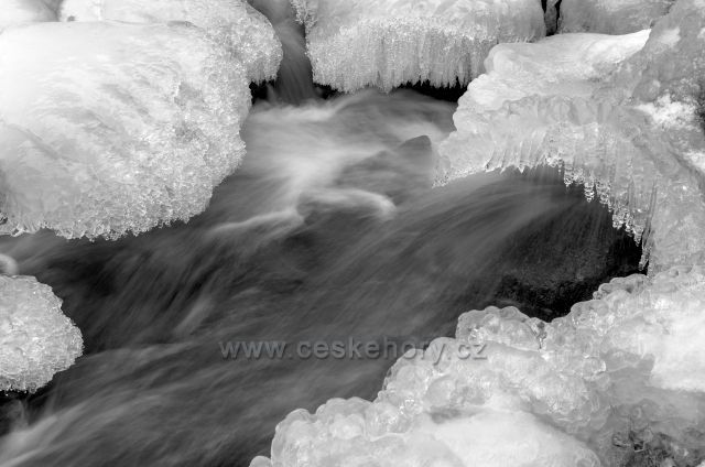 V ledovém sevření - Bílá Desná.