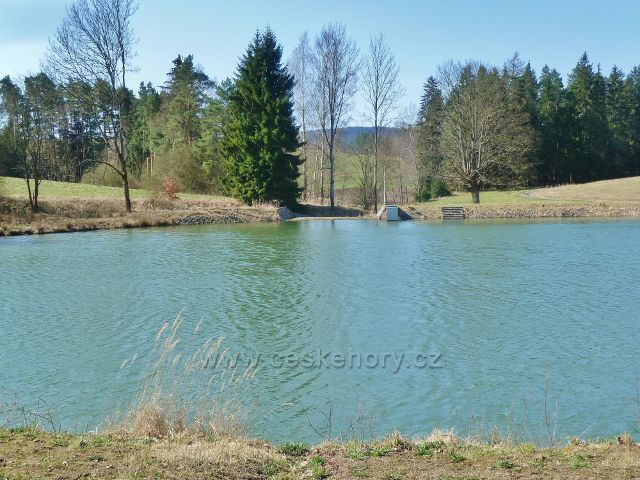 Rybník na soutoku potoků Vaňkovky a Vápenky