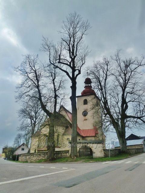 Rokytnice v O.h. - kostel Nejsvětější Trojice s hrobkou