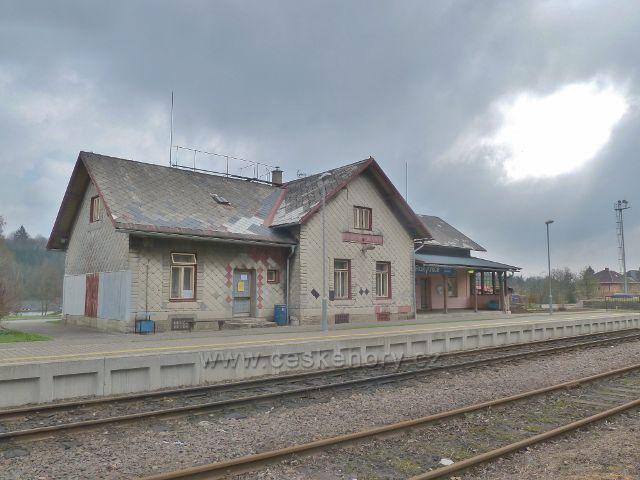 Rokytnice v O.h.- vlakové nádraží ČD