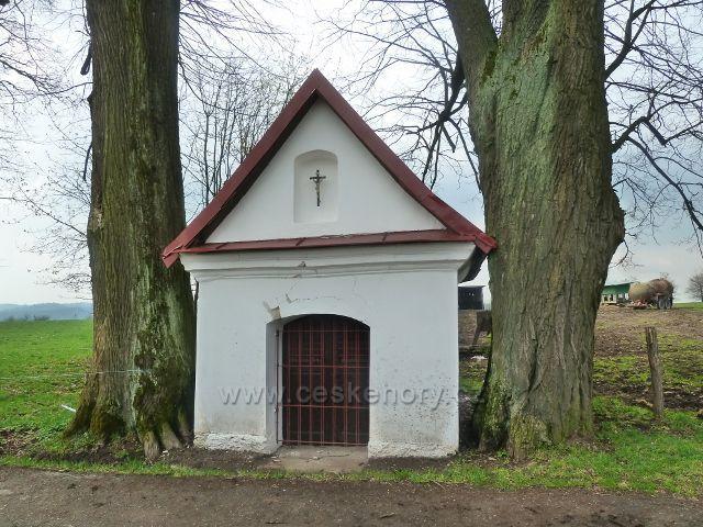 Rokytnice v O.h. - kaplička u cesty k Dolnímu dvoru