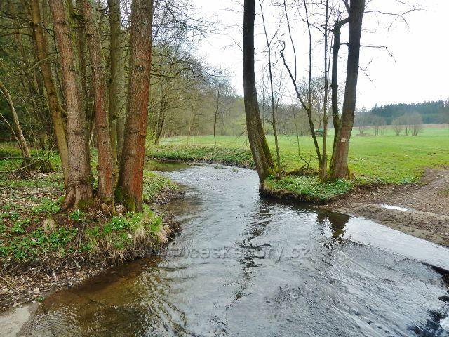 Kunvald - Rokytenka pod Kunvaldským rybníkem