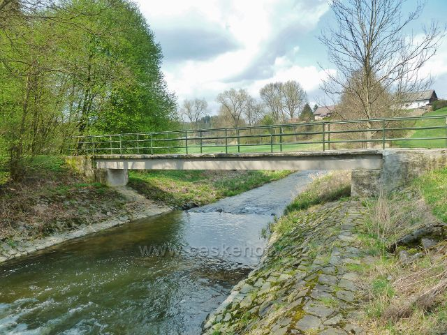 Žamberk - mostek přes Rokytenku pod Albertinem