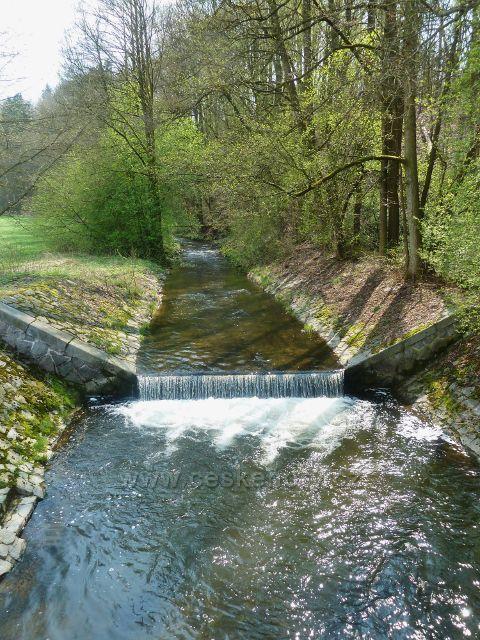 Žamberk -Rokytenka před mostkem pod Albertinem