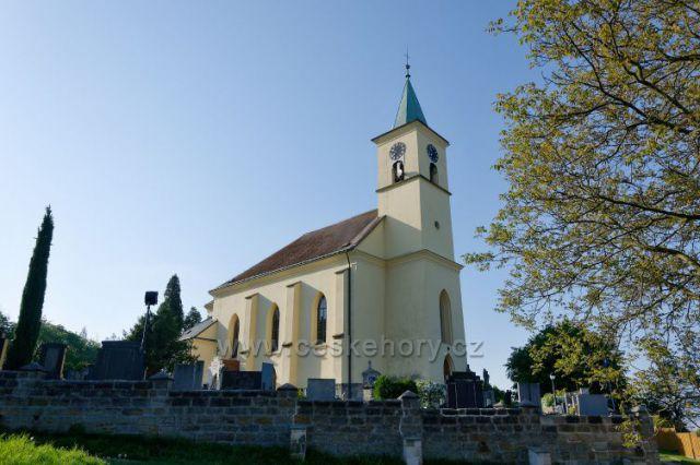Všeň-kostel sv.Filipa a Jakuba