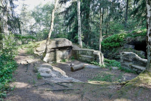 Zřícenina hradu Kozlov (Chlum)