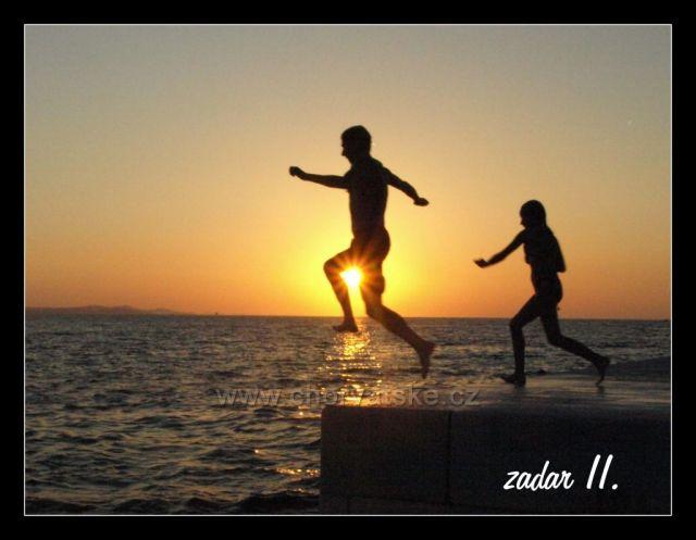 Zadar - molo u mořských varhan - Pocta slunci  se to tam jmenuje