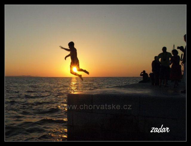 Zadar - už jenom monoskok