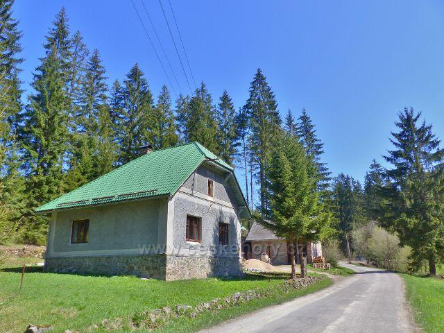 Bývalý domek lesní správy v Moravském Karlově