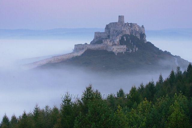 ranní Spišský hrad