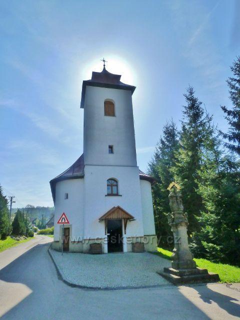 Šanov - kostel Nanebevzetí Panny Marie