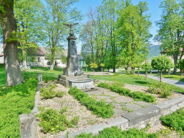 Podlesí - památník padlým v I. světové válce