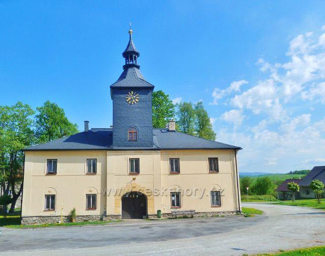 Podlesí - budova bývalé radnice