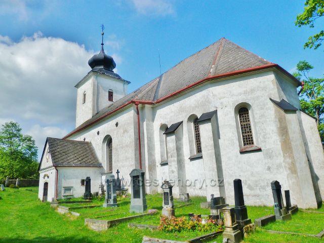 Podlesí - kostel sv. Máří Magdalény